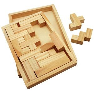 Shapes Challenge Wooden Puzzle