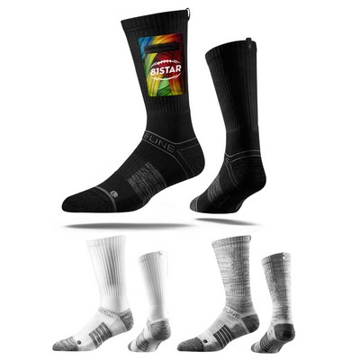 Strideline® Premium Utility Pocket Crew Sock